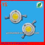 Cheap white warm white 1w led chip 2700-3500K (100% waranty)-YS-1WP2BW13-T