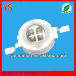 Four chips 5w 365nm uv led chip for curing 6v (ROHS passed)-YS-5WB2DP22-M