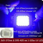 100w uv led 365nm 375nm high power led-GP-100WP1-T45