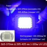 1-100w uv led 365nm-GP-100WP1-T45