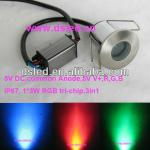 IP67,3W LED RGB Path light,RGB tri-chip,3in1,5VDC,out-control-DS-11-1 3W RGB