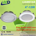 "High Power SMD dimmable LED Downlight price 12W 15W 18W 30W cob led downlight dimmable housing china-LMD-CL-4""-12W"