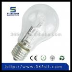 220v 53w high quality 1500h A60 E27 Eco halogen lamp-A60