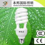 18w/20w/24w half spiral CFL bulb E27 lamp made in china-BAJBACT004