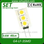 G4 40Lm 20W 3smd 5050 LED light(G4-LF)-G4-LF