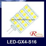 g4 led /g4 led light / g4 led lamp/ halogen lamps-halogen lamps (LED-GX4-S16)
