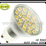 gu10 led 50w halogen replacement 330Lm-GU10-24SMD-C