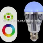 rgb led bulb remote control(with CE&ROHS Approval)-WM 13 21 42 52 63 82(E27)
