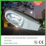 40w 60w tempered glass induction lamp street light-UN-SI-002