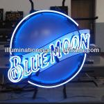 Blue Moon Neon Sign-TDNS Corvette
