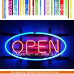 LED neon open sign-HBE-WHS-J