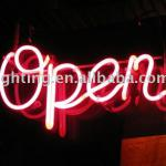 Colorful neon advertising lamp-
