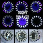 HID projector lens kit XGY-LED New Double Angel eyes-H1
