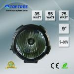 9 inch, 100W,12V 24V HID off road light/ hid driving light/off-road car light-2523B