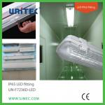 T8 IP 65 Fluorescent Light Fixture Waterproof LED Light-UN-F7236D-LED