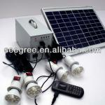 Governmental supplier,highlight portable solar lighting,2/4/6 led lights-SG-LS20W6A,Solar lighting