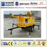 Brand Engine Flood Lighting Tower Generators with one year warranty-BLT-8000