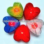 Heart shape led safety strobe lights,bag flashing lights-
