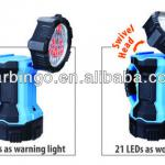 3 in 1 Dual Head Rechargeable Spot Light, Portable Lamp-AT11031