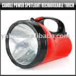Candle Power Spoftlight Rechargeable Torch,YFO100A-YFO100A