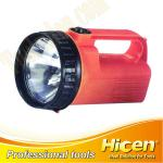 Plastic Portable Hand Held Bulb Search Light, Camping Spotlight-85 20 40 09