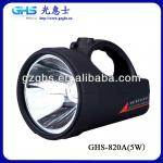 Super Bright 10W Cree T6 1200LM Hand Held Spot Light Searchlight With Rechargeable Battery (GHS-8203)-GHS-8203
