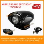 new products ! hid remote controller spotlight with carema-WLSL