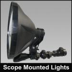 hunting searchlight portable spotlight powerful gun light-JG-NFG240