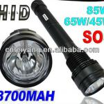 Super Bright NEW 85W/65W/45W HID Xenon Torch Flashlight 8700mAh hunting SOS torch spotlight-H