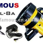 Car use Lead-Acid Rechargeable portable spotlight-SPL-8A