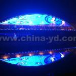 IP68 Waterproof LED Bridge Lamp For Decorative Lighting-YD-DGC-40,YD-DGC-40-CX2-3S-TP-5050-SHY-RGB3-F