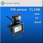 10Watt LED Flood Light IP65 CE,RoHS,SAA ,FCC approved-UP-FL10W