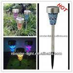 Mosaic solar garden light-TH007Q-S