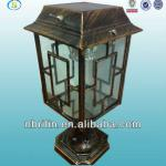 Outdoor garden light, decorative garden solar led light,fence post lamp for garden-3SL-G003N