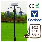 3-6M high garden light Pole Excellent Bridgelux led solar lights for garden solar led park/yard/garden lights-V- series