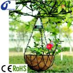 GARDENS, SOLAR GARDEN LIGHT, SOLAR LIGHT FOR GARDENS, SOLAR LIGHT WITH FLOWER BASKET,-XQSL448