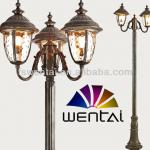 2.5m lighting pole cheap antique die cast street light (DH-2029-3M)-DH-2029-3M