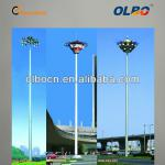 Africa 30 meter High Masts with Metal Halid Lamp Floodlights-GGD-002