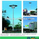 hot dip galvanizing outdoor high mast lighting 20-35m-