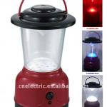 Red-Blue Color Changing 12 White LED Hurricane Lantern-738