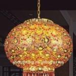 350*380mm yellow crystal led lantern-Swift70