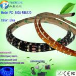 3528 smd dc12V 9.6W blue led neon waterproof strip lights-PX- 3528-8BS120
