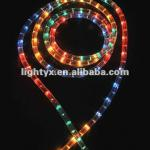 multi color round 2 wire rice bulb rope lights,christmas light-YX-RR2