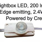 LED lights for light boxes-LL-F12P600W1L65