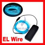 Flexible EL Glow Neon Light Wire Rope Tube Car Party Decoration 3M-B359