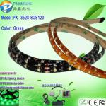 3528 Green olive green led flexible neon strip light-PX- 3528-8GS120