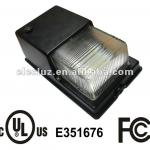 28W LED wall pack with sensor with UL/ cUL E351676-WSS28