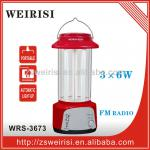 Rechargeable Light with FM Radio (WRS-3673)-WR-3673
