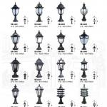 outdoor pillar light (SH-8401~8416)-SH-8401~8416