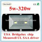 Bridgelux chip, Meanwell driver ip65 led outdoor lighting(CE,RoHS)-